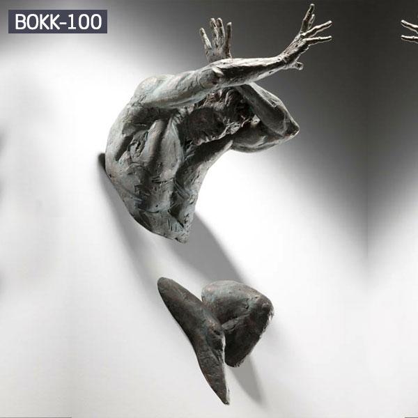 Matteo Pugliese replica bronze wall statues for sale
