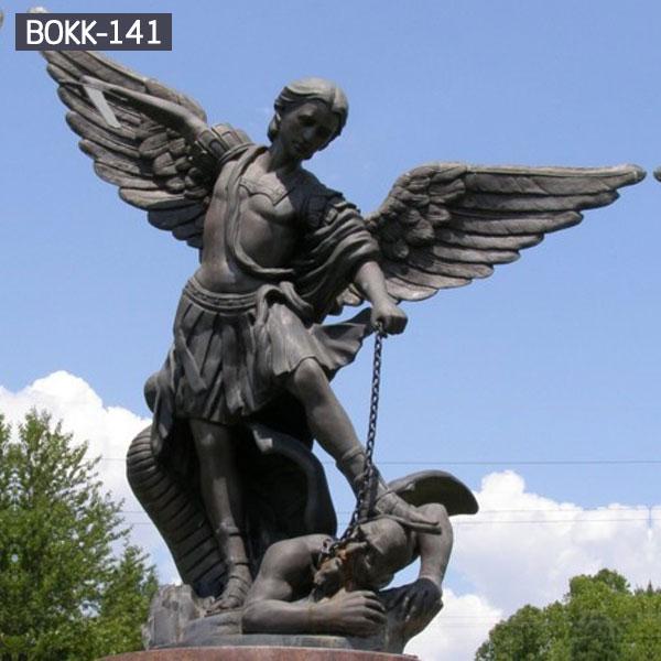 Buy outdoor archangel saint Michael bronze garden statue
