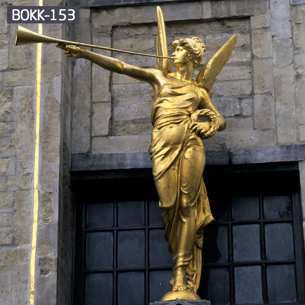 Golden archangel gabriel bronze casting statue to buy Golden archangel gabriel bronze casting statue to buy