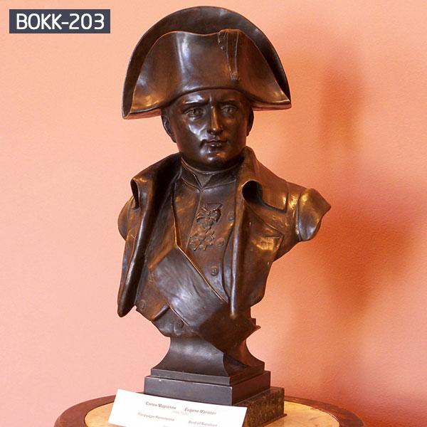 vintage bust statue man head bronze casting for sale