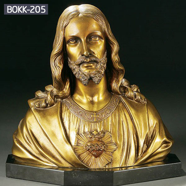 Bespoke religious Christ Jesus bust head statues for sale