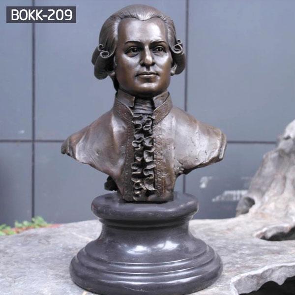 Metal bronze casting bust statue maker