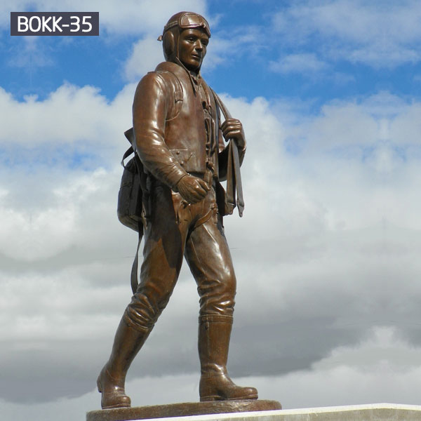 outdoor life size soldier lawn statue bronze casting memorials for sale
