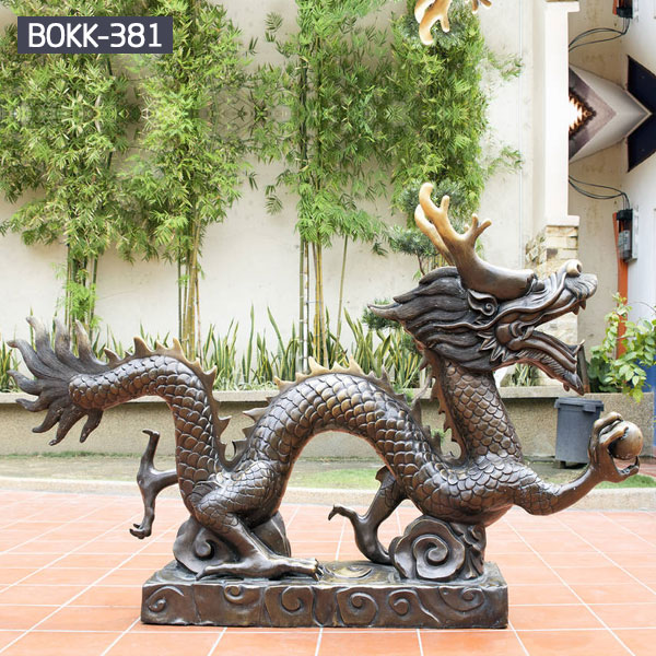 Outdoor bronze casting dragon sculpture to buy
