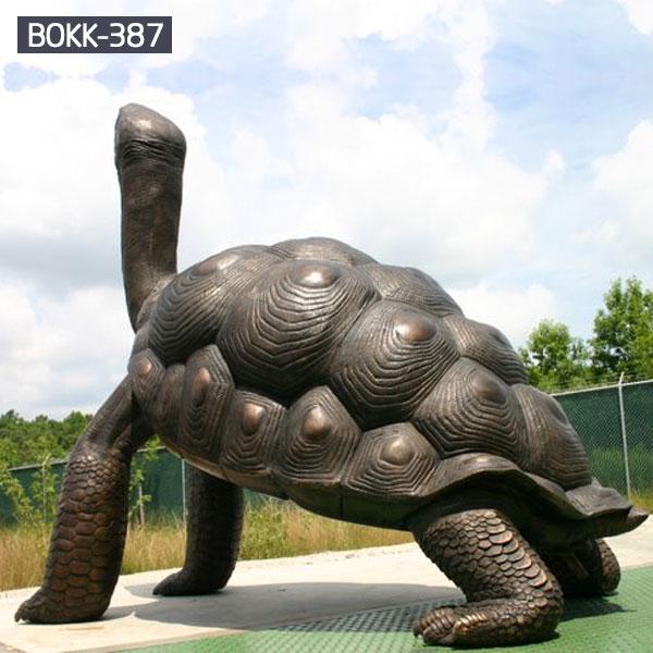 Large turtle bronze casting garden metal art costs