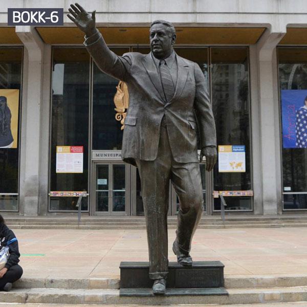 Life size bronze famous figure statues public memorials for sale