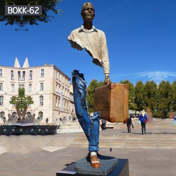 frances bruno catalano sculpture for outdoor street decor