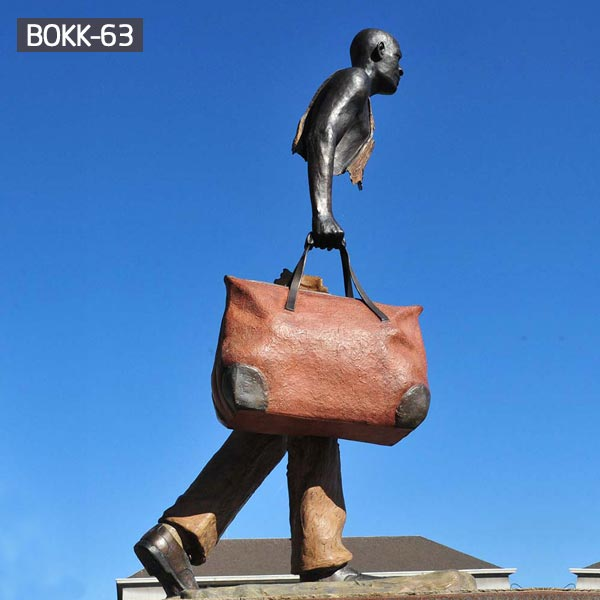 Outdoor modern bronze bruno catalano travellers to buy