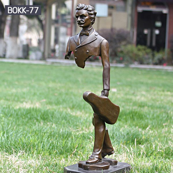 Frances bruno catalano sculpture replica Albert Einstein bronze sculpture for sale
