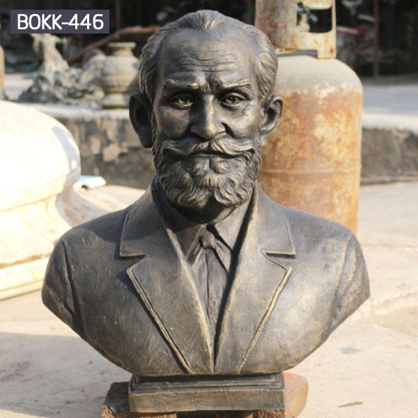 Bespoke metal head statues famous figure bust to buy