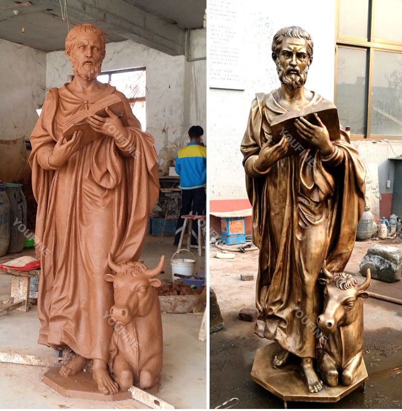 Clay model and bronze casting religious outdoor garden figure statues for sale
