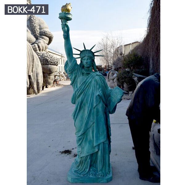 Famous bronze casting the statues of liberty replica to buy