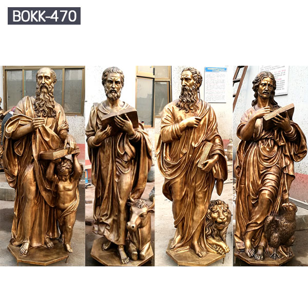 Life size bronze catholic figure garden statues for sale