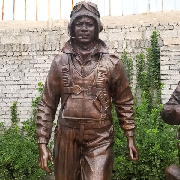 Custom Made Madetuskegee Airmen Statue Monument Replica for Sale